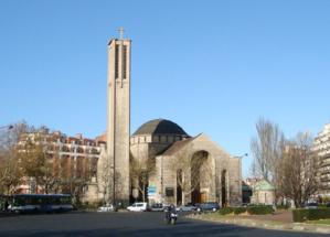 Histoire de l'église Sainte Jeanne de Chantal