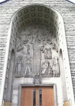 Le portail de l'église