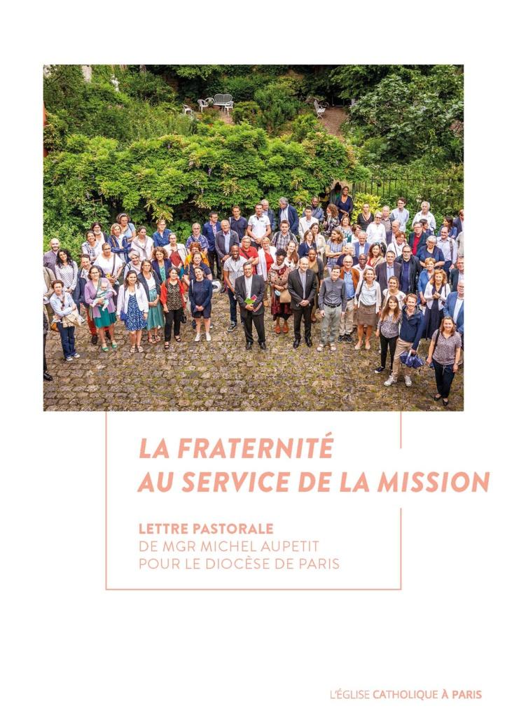 Lettre pastorale de SE Monseigneur Michel Aupetit, archevêque de Paris