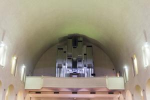 Orgue de l'église Sainte Jeanne de Chantal - Photo Jeanne B.