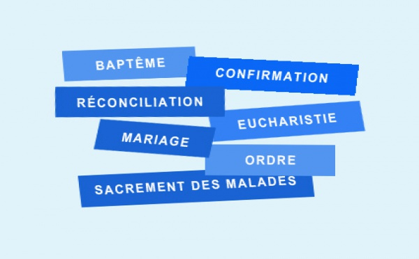 Les sept sacrements de l'Eglise