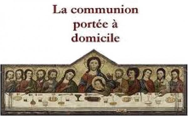 Communion à domicile